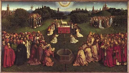 Ghent Altarpiece adorationofthelamb
